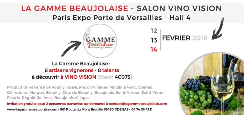 INVITATION SALON VINO VISION 2